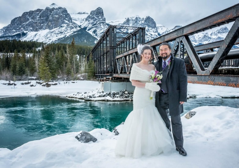 Canmore wedding photo shoot